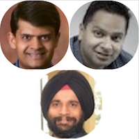 SALIL PRADHAN (VC & Product Guy), NITIN PACHISIA (Unshackled Ventures), SANJIT SINGH DANG (Intel Capital)