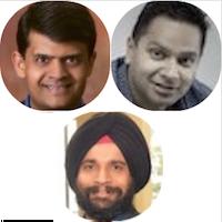 SALIL PRADHAN (VC & Product Guy), NITIN PACHISIA (Unshackled Ventures), SANJIT SINGH DANG (Intel Capital)
